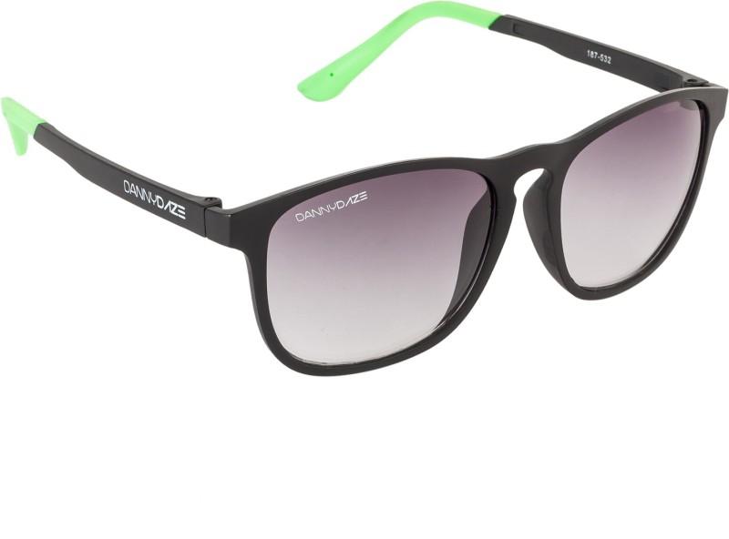 Danny Daze Wayfarer Sunglasses(Black) image