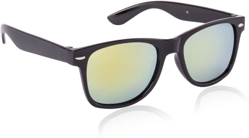 Glitters Wayfarer Sunglasses(Yellow) image