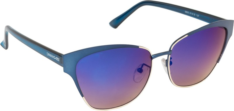 Danny Daze Oval Sunglasses(Blue) image