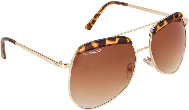 Danny Daze Over-sized Sunglasses(Brown) image