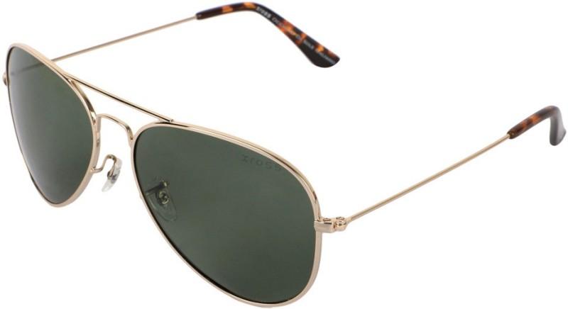 Xross Aviator Sunglasses(Green) image