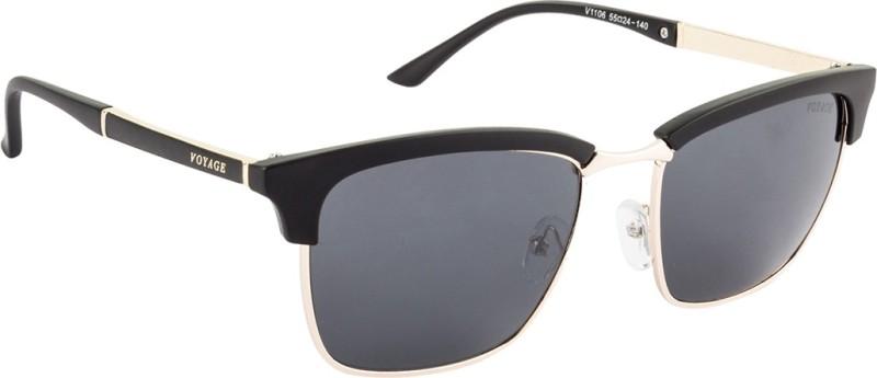 Voyage Wayfarer Sunglasses(Black) image