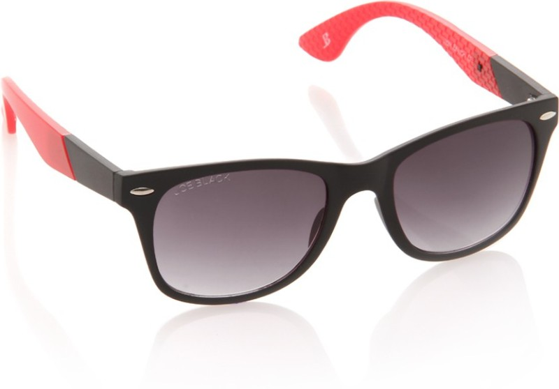 Joe Black Wayfarer Sunglasses(Violet)