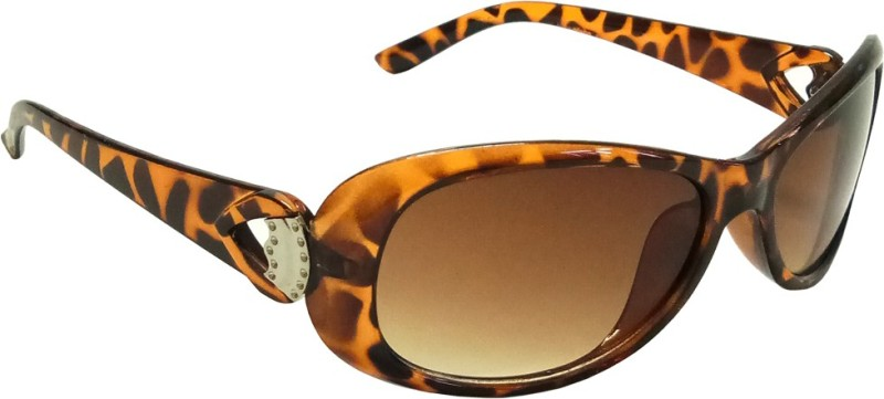 Mangal Brothers Rectangular Sunglasses(Brown) image