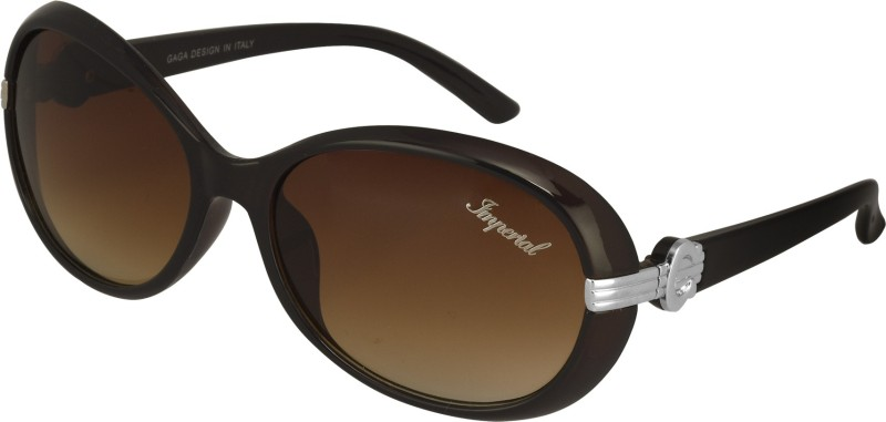 Imperial Club Wayfarer Sunglasses(Brown)