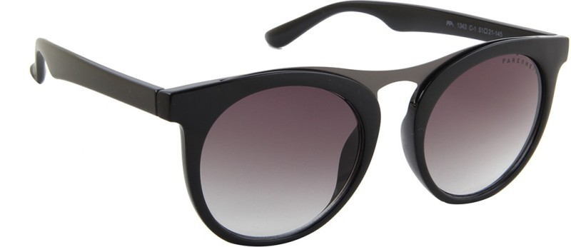 Farenheit Round Sunglasses(Grey) image