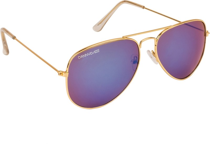 Danny Daze Aviator Sunglasses(Blue) image