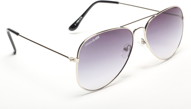 Danny Daze Aviator Sunglasses(Grey)