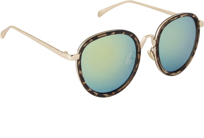 Danny Daze Round Sunglasses(Yellow) image