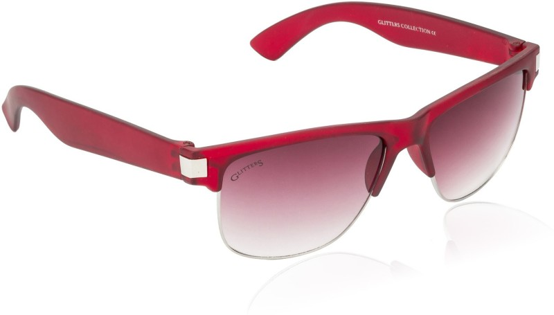 Glitters Wayfarer Sunglasses(Red) image.