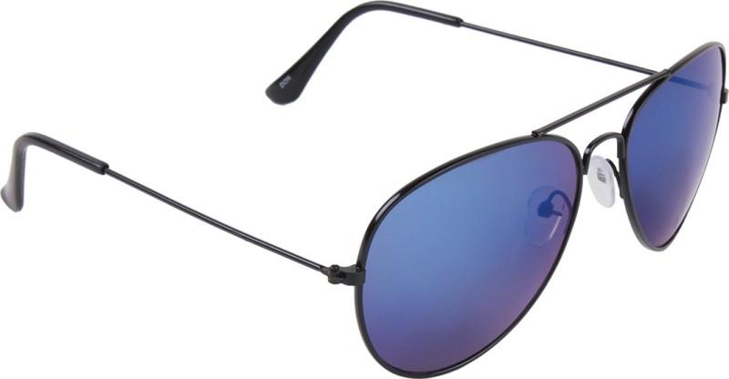 Irayz Aviator Sunglasses(Blue) image