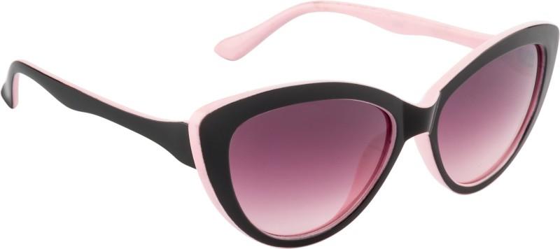Glitters Cat-eye Sunglasses(Violet) image