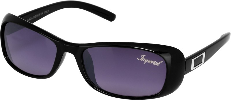 Imperial Club Wayfarer Sunglasses(Black) image