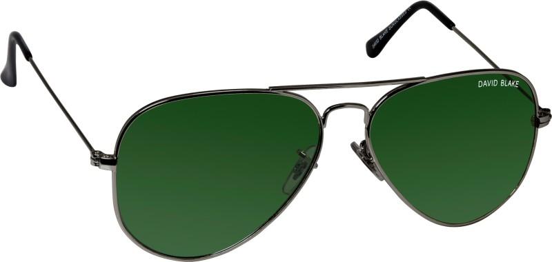 David Blake Aviator Sunglasses(Green) image