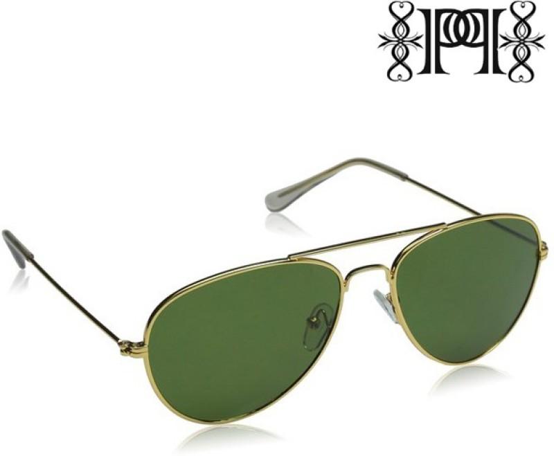 Poloport Aviator Sunglasses(Green) image