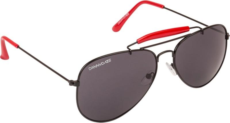 Danny Daze Aviator Sunglasses(Silver) image