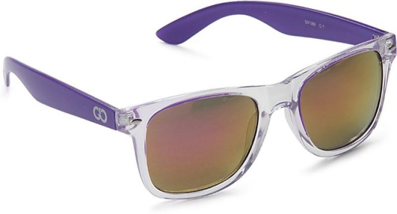 Gio Collection Wayfarer Sunglasses(Multicolor) image