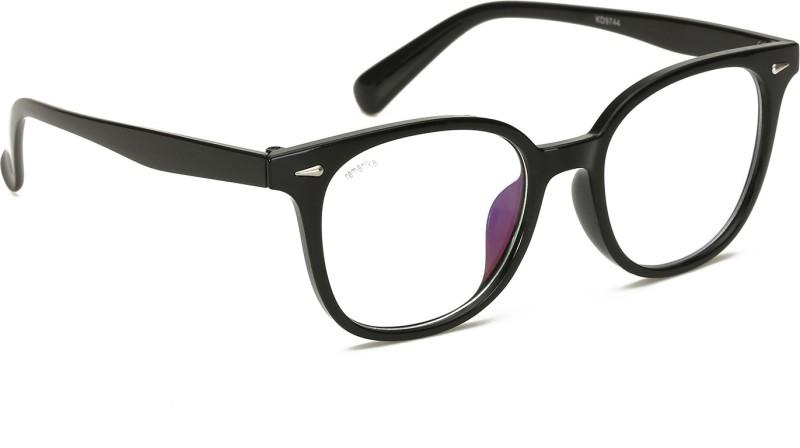 Remanika Oval Sunglasses(Clear) image