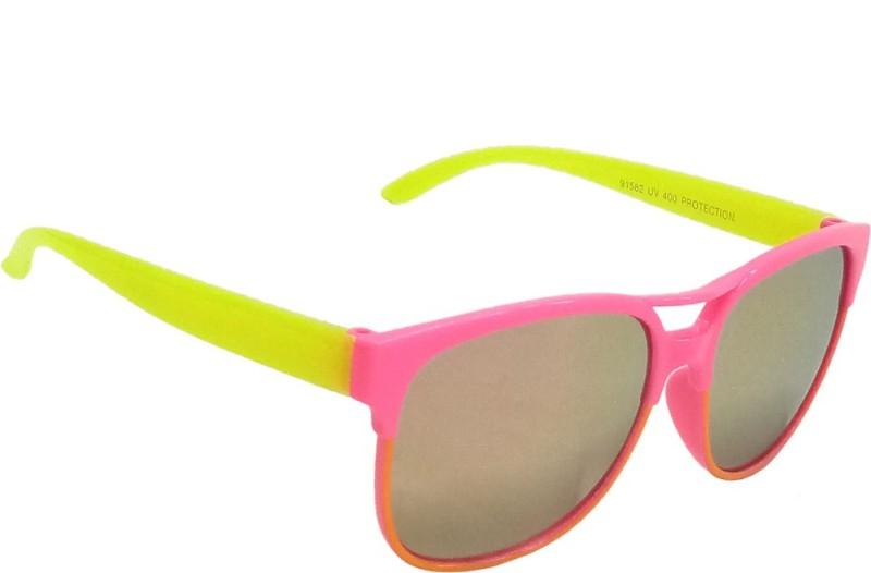 Mangal Brothers Retro Square Sunglasses(For Boys & Girls) image