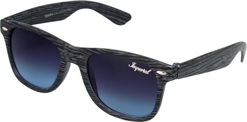 Imperial Club Wayfarer Sunglasses(Black)