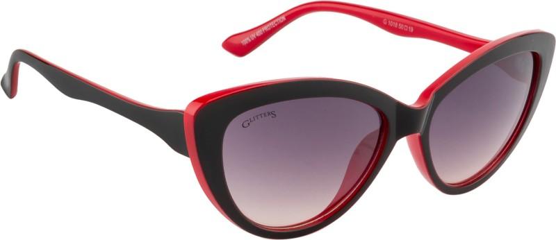 Glitters Cat-eye Sunglasses(Black) image