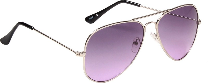 Ted Smith Aviator Sunglasses(Violet) image