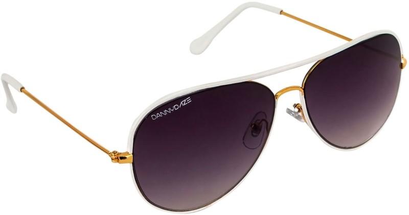 Danny Daze Aviator Sunglasses(Black)
