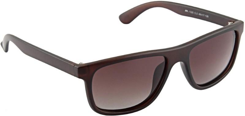 Farenheit Wayfarer Sunglasses(Brown) image
