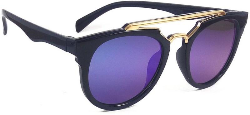 Aventus Round Sunglasses(Blue)