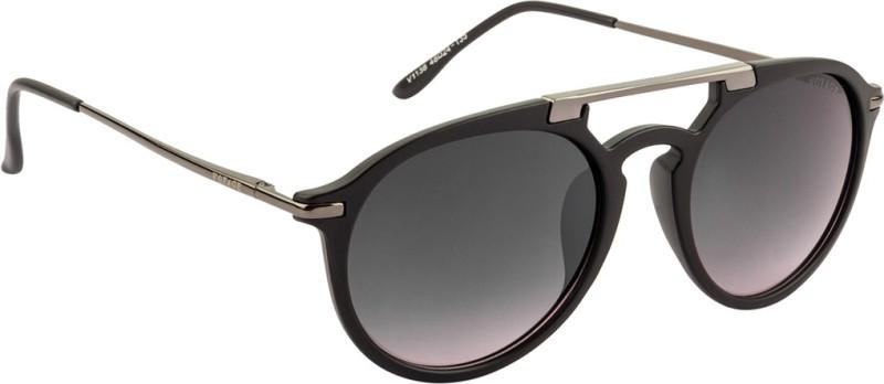 Voyage Round Sunglasses(Black) image