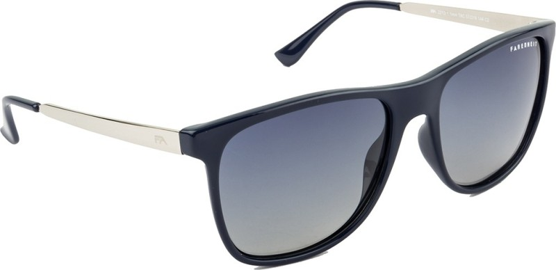Farenheit Over-sized Sunglasses(Blue) image