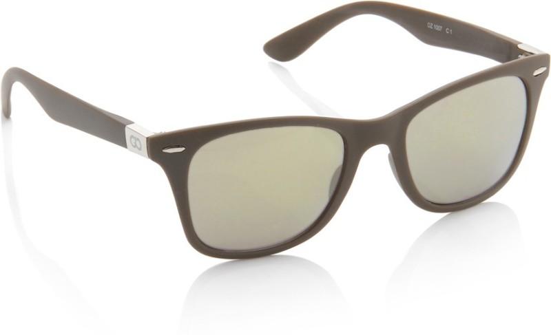 Gio Collection Wayfarer Sunglasses(Grey) image