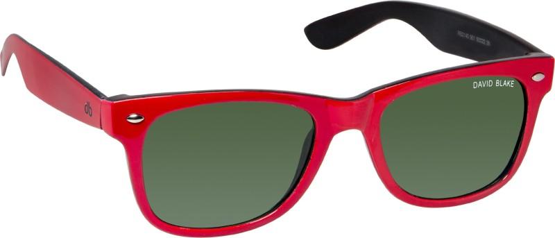 David Blake Wayfarer Sunglasses(Green) image