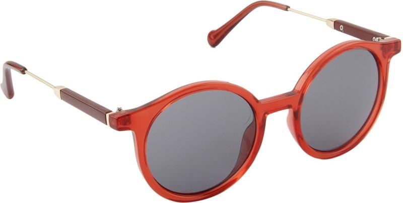 Farenheit Round Sunglasses(Grey) image