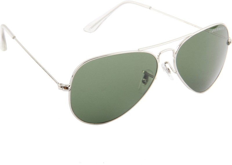 Farenheit Aviator Sunglasses(Green)