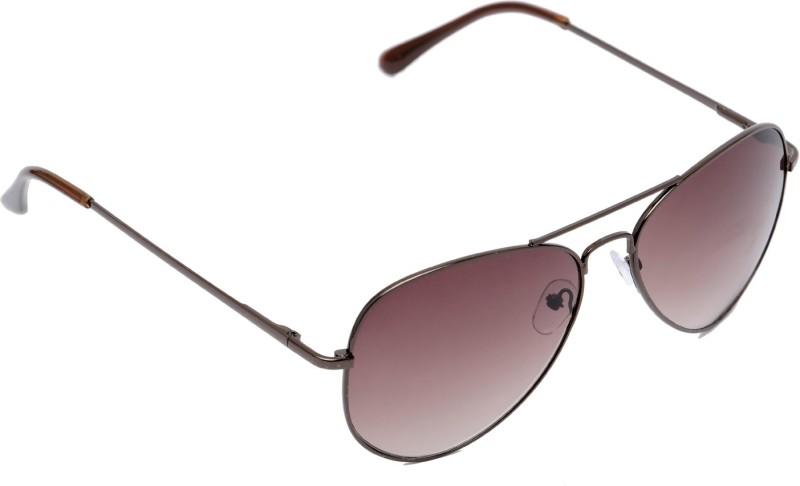 Feel Aviator Sunglasses(Brown) image
