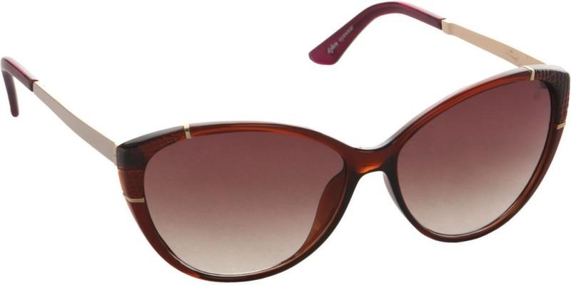Djorn Cat-eye Sunglasses(Brown)