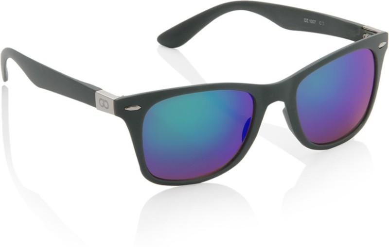 Gio Collection Wayfarer Sunglasses(Green) image