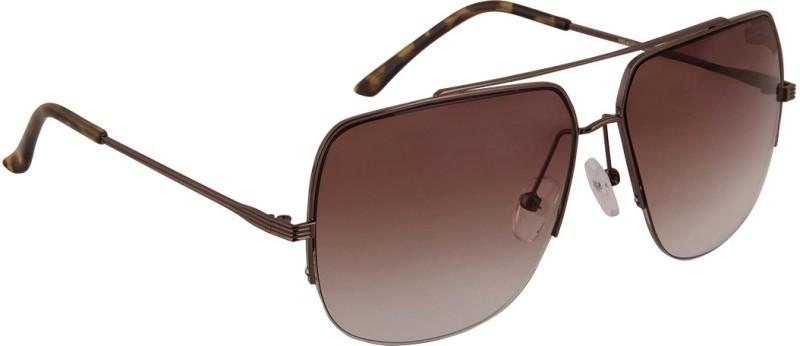 Panache Rectangular Sunglasses(Brown) image