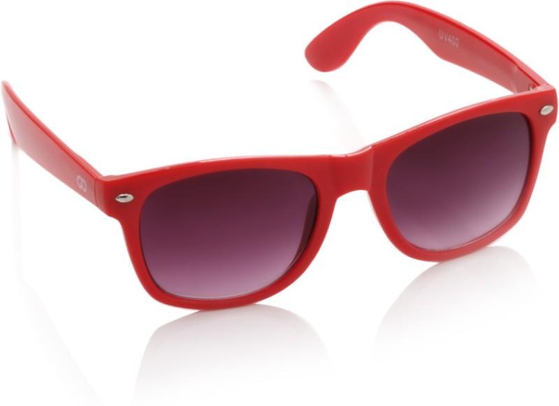 Gio Collection Wayfarer Sunglasses(Violet) image