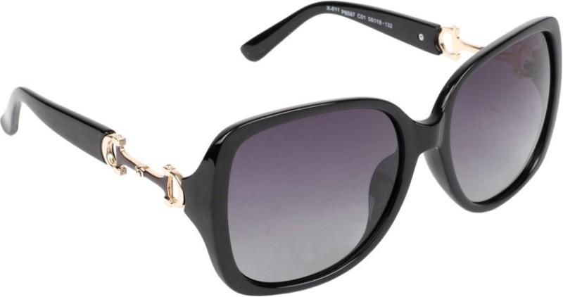 Xross Over-sized Sunglasses(For Girls) image