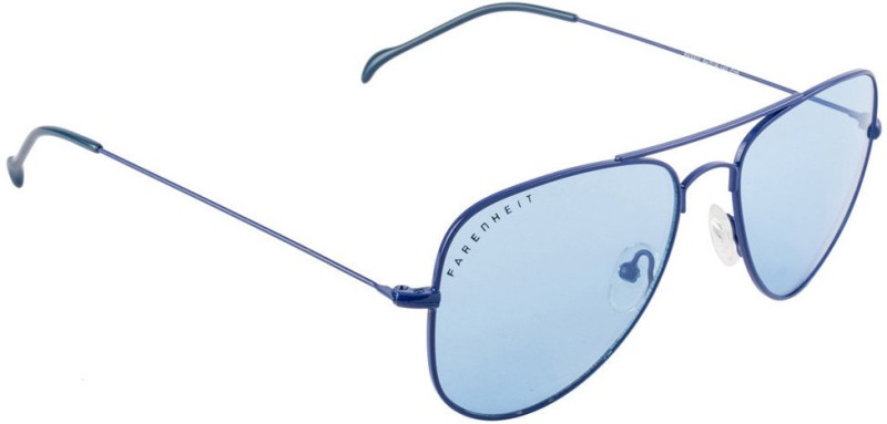 Farenheit Aviator Sunglasses(Blue) image