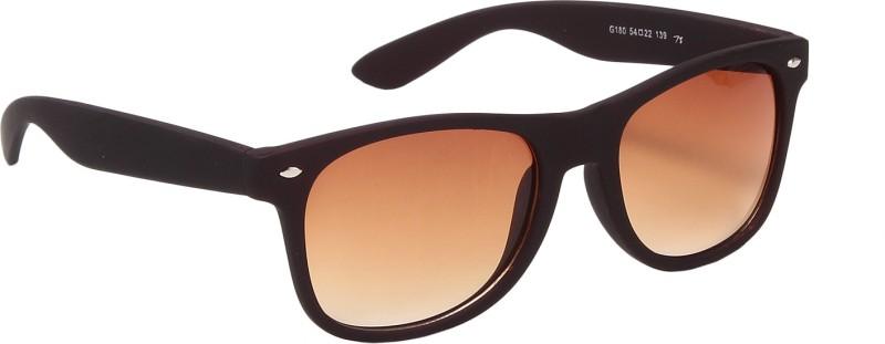 Ted Smith Wayfarer Sunglasses(Brown) image