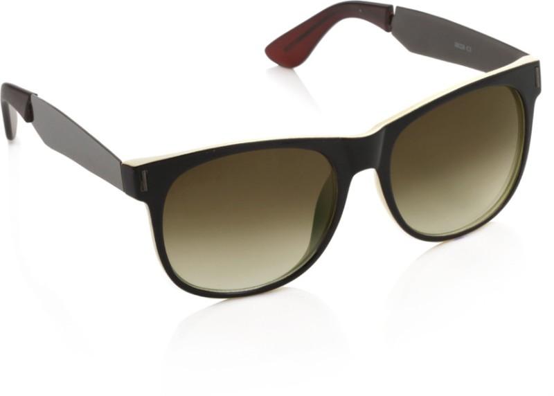 Joe Black Wayfarer Sunglasses(Brown)