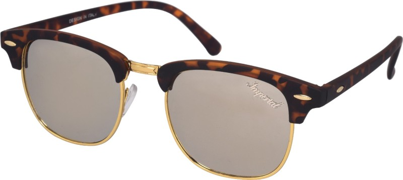 Imperial Club Wayfarer Sunglasses(Silver)