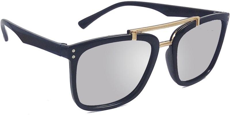 Aventus Wayfarer Sunglasses(Silver)
