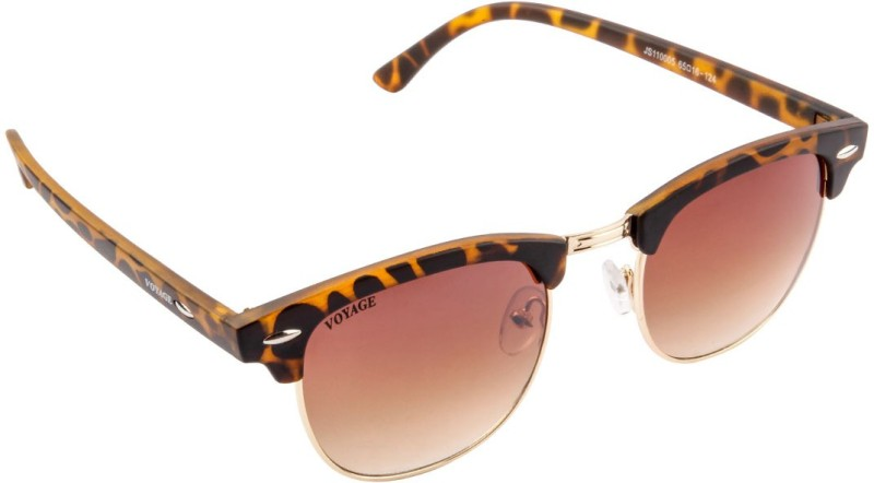 Voyage Oval Sunglasses(Brown) image