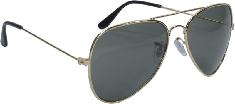 Peter Jones Aviator Sunglasses(Green) image