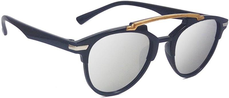 Aventus Round Sunglasses(Silver)