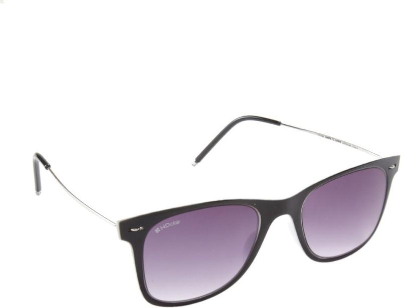 HD Clair Wayfarer Sunglasses(Violet) image